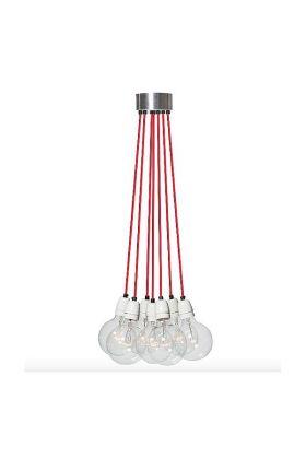 Hanglamp Lichtlab No.3 112124 rood