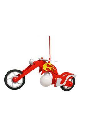 Hanglamp Chopper rood 65cm