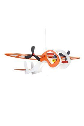 Hanglamp Vliegtuig Joe oranje