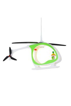 Hanglamp Helikopter Kasper groen