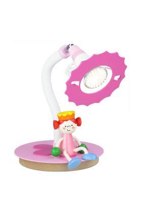 Tafellamp prinses roze