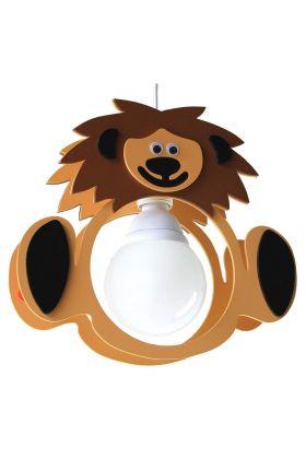 Hanglamp Leeuw Leo bruin