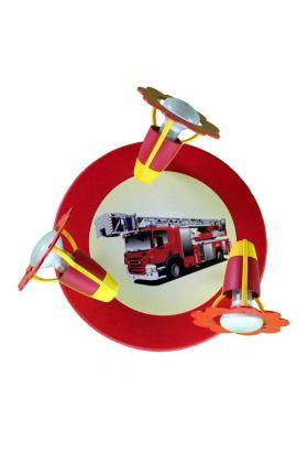 Spot Brandweerauto rood