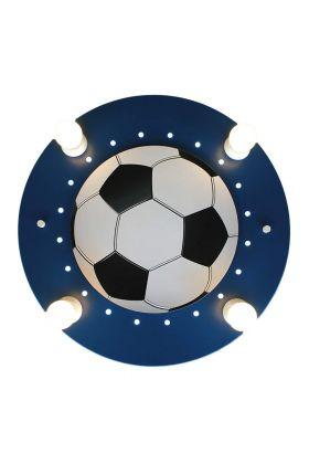 Plafondlamp Voetbal blauw