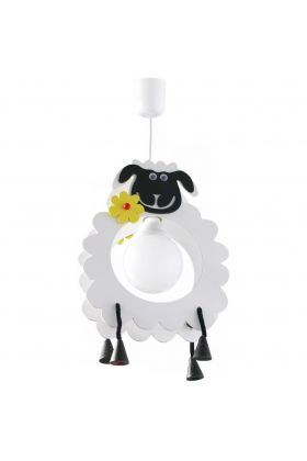 Hanglamp Schaap John wit