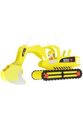 Hanglamp Graafmachine Bodo geel