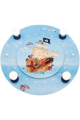 Plafondlamp Capt'n Sharky Op volle zee 50cm