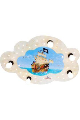 Plafondlamp Capt'n Sharky Op volle zee 70cm