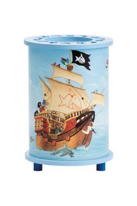 Tafellamp Capt'n Sharky Op volle zee 20cm