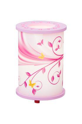 Tafellamp Fantasie roze 25cm