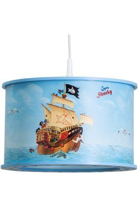 Hanglamp Capt'n Sharky Op volle zee 40cm