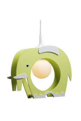 Hanglamp Olifant groen