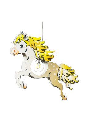 Hanglamp Paard wit