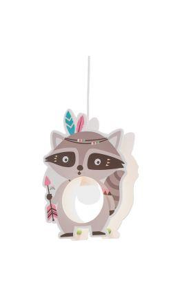 Hanglamp Wasbeer grijs