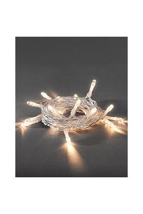 Konstsmide lichtsnoer 50 warm witte LEDs op batterij 1470-103
