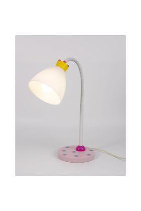 Niermann Kroontjes tafellamp roze