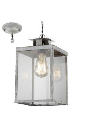 Trio Elsa 302600161 hanglamp grijs
