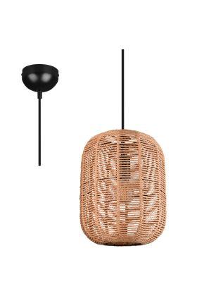Hanglamp Runa 303000132 bruin 25cm