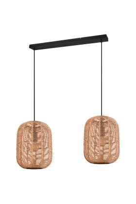 Hanglamp Runa 303000232 bruin 115cm