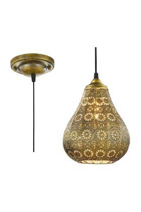 Trio Jasmin 303700104 hanglamp brons