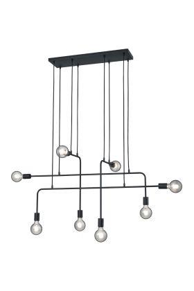 Hanglamp Connor 306200832 zwart 126cm