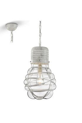 Trio Edda 340100127 hanglamp wit