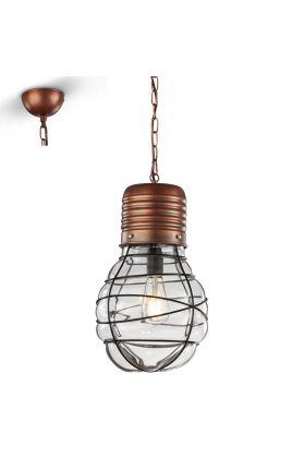 Trio Edda 340100162 hanglamp koper