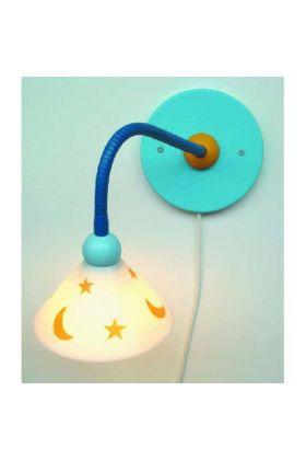 Niermann Prins wandlamp 345 blauw