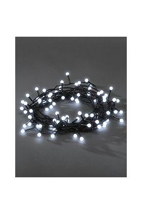 Konstsmide Cherry LED lichtsnoer 80 witte bolletjes 3691-207