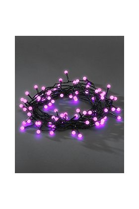 Konstsmide Cherry LED lichtsnoer 80 paarse bolletjes 3691-457