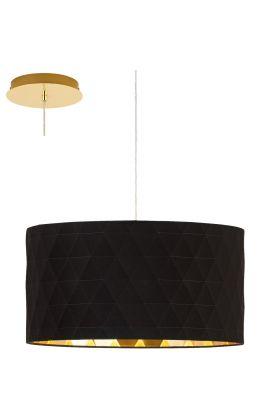 Eglo Dolorita 39224 hanglamp zwart