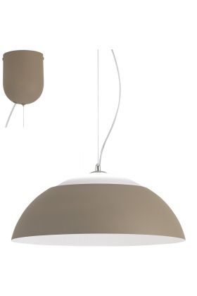 Eglo Marghera 39293 hanglamp taupe