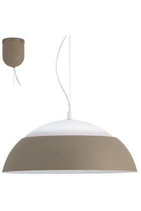 Eglo Marghera 39294 hanglamp taupe