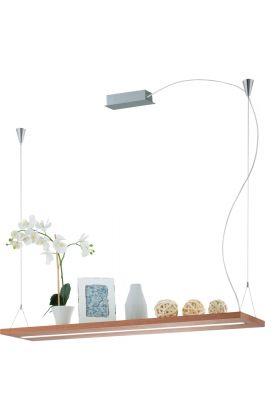 Eglo Monroy 39328 hanglamp bruin