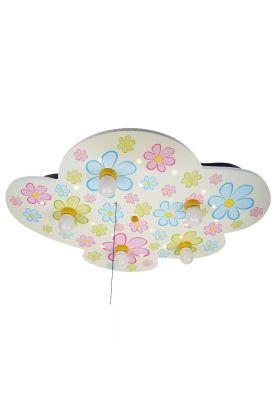 Niermann Bonte Bloemen 670 plafondlamp