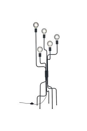 Vloerlamp Connor 406200532 zwart 138cm