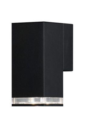 Wandlamp Antares matzwart 17cm