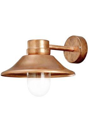 Konstsmide Vega 412-900 wandlamp koper