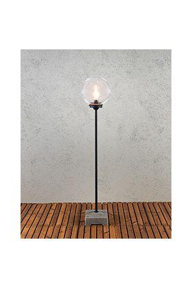 Konstsmide Lodi 455-750 terraslamp zwart 129cm