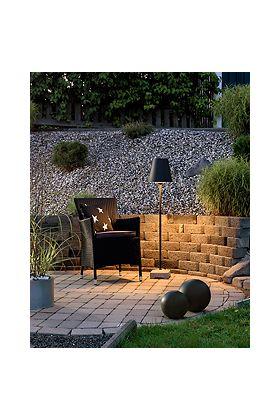 Konstsmide Lucca 456-750 terraslamp zwart