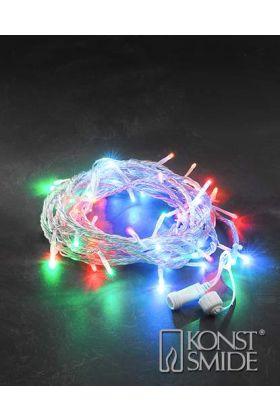 Konstsmide 24V koppelbaar LED systeem 10m RGB lichtsnoer 4610-503
