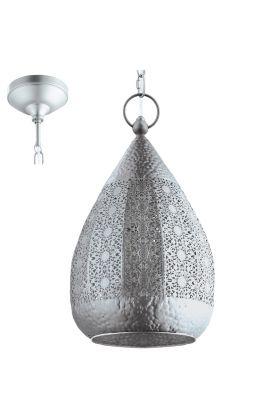 Eglo Melilla 49708 hanglamp zilver
