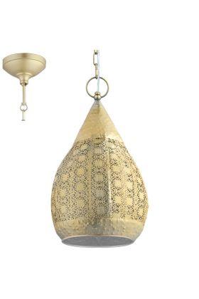 Eglo Melilla 49709 hanglamp goud