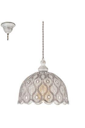 Eglo Talbot 49717 hanglamp wit