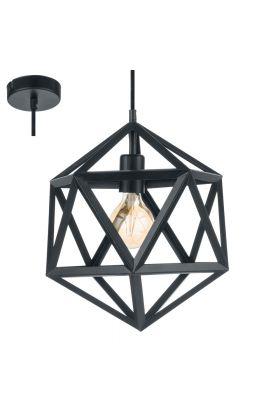 Eglo Embleton 49761 hanglamp zwart