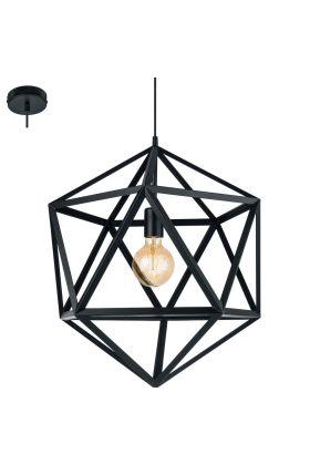 Eglo Embleton 49762 hanglamp zwart