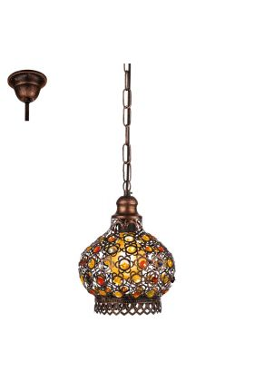 Eglo Jadida 49763 hanglamp koper