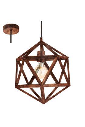 Eglo Embleton 49797 hanglamp koper