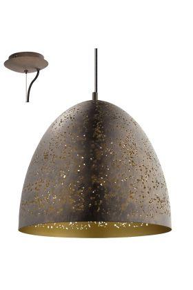 Eglo Safi 49815 hanglamp bruin
