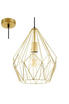 Eglo Carlton 49933 hanglamp goud